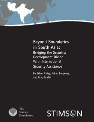 Beyond Boundaries in South Asia: - The Stanley Foundation