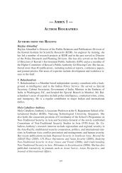 Annex 1. Author Biographies - The Stimson Center