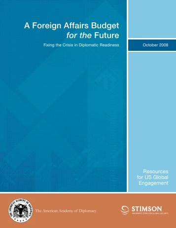 A Foreign Affairs Budget for the Future - The American Academy of ...