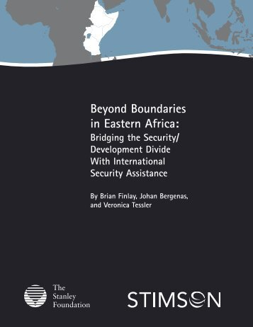 Beyond Boundaries in Eastern Africa: - The Stimson Center