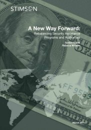 A New Way Forward: - The Stimson Center