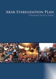Arab Stabilization Plan - The Stimson Center