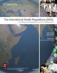 The International Health Regulations (2005): - The Stimson Center