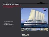Sustainable Ship Design - Stirling Design International