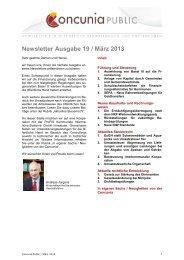 Newsletter Ausgabe 19 / März 2013 - Studieninstitut Westfalen Lippe