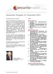 Newsletter Ausgabe 18 / Dezember 2012 - Studieninstitut Westfalen ...