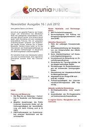 Newsletter Ausgabe 16 / Juli 2012 - Studieninstitut Westfalen Lippe