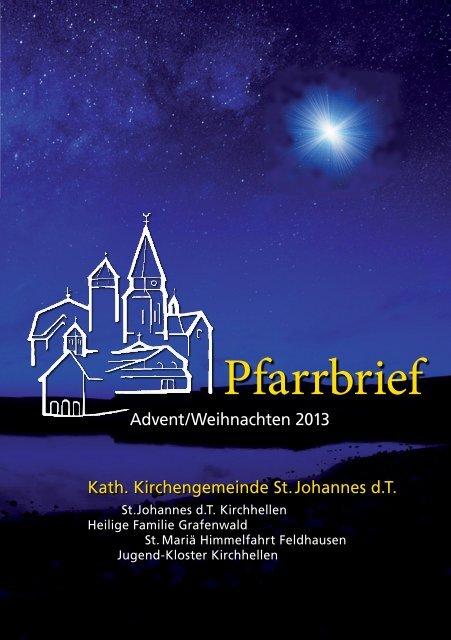 Pfarrbrief - Pfarrei St. Johannes der Täufer