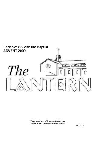 Lantern Advent 09 - Anglican Church of St John the Baptist, in