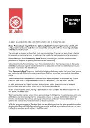 05 July 2013 - St John Ambulance Australia