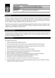 J&P Specification - St John Ambulance Australia