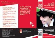 Cadet brochure (pdf) - St John Ambulance Australia