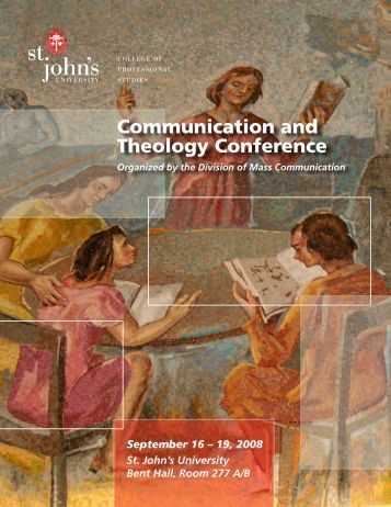 Communication and Theology Conference - St. John's University
