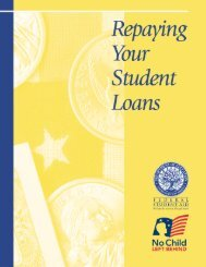 Repaying Your Student Loans - St. John's College