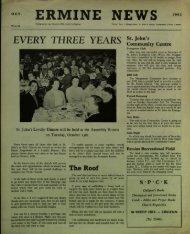 Ermine News October 1962 - St. John the Baptist Parish Church ...