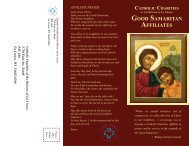 Good Samaritan Brochure - Catholic Charities
