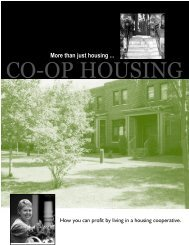 More than just housing ... - University of Wisconsin Center for ...