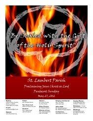 The Reverend Know-it-all - St. Lambert Parish