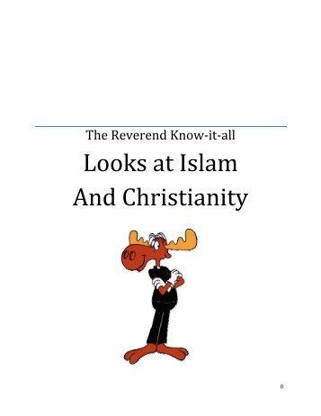 Looks at Islam And Christianity - St. Lambert Parish