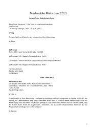 Medienliste Mai + Juni 2013 - Kath. Kirchengemeinde St. Laurentius ...