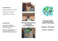 Partnerschaft macht Freu(n)de - Kath. Kirchengemeinde St ...