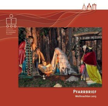 Zum Advent 2013 - Kath. Kirchengemeinde St. Laurentius in ...