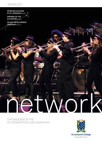 the magazine of the st leonard's college community spring 2011
