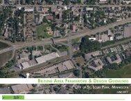Beltline Station Area Design Guidelines - final - City of St. Louis Park