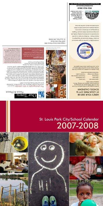 St. Louis Park City/School Calendar - City of St. Louis Park
