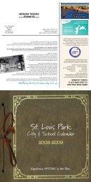 City & School Calendar - City of St. Louis Park