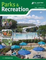 Experience RECREATION in the Park. Experience RECREATION in ...