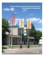 Development Guidelines - City of St. Louis Park