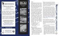 Residential deck construction - City of St. Louis Park