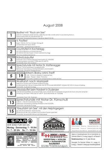 August 08.cdr - Marktgemeinde St.Marein bei Graz
