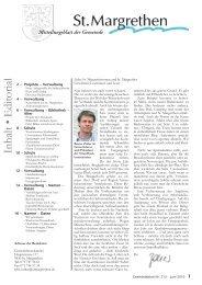 213-Mitteilungsblatt-06-10 [PDF, 7.85 MB] - St. Margrethen