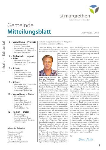 244-Mitteilungsblatt-07-13 - St. Margrethen