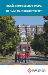 inglês como segundo idioma na saint martin's university