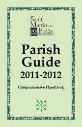 Parish Guide - St. Martin in the Fields Episcopal Church