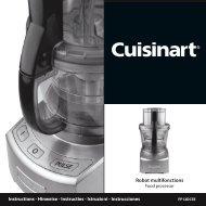 Robot multifonctions - Cuisinart
