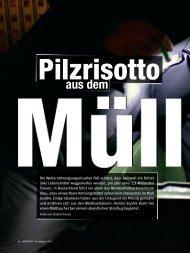 Pilzrisotto aus dem Müll - St. Martin und Severin