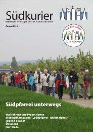 Südkurier 2010 - St. Martin und Severin