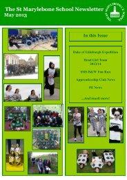 The St Marylebone School Newsletter