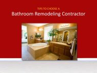 Bathroom Remodeling In Dayton, Ohio - Tips To Choose Contractors