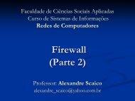 Firewall (Parte 2)