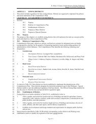 St. Mary's County Comprehensive Zoning Ordinance Article 3 ...