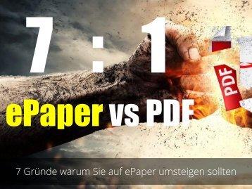 ePaper vs PDF