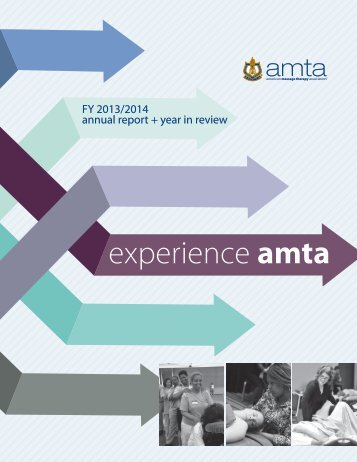 Experience AMTA: Annual Report + Year in Review