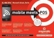 Konferenz MOBILE MEETS POS 2014