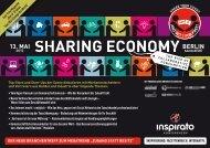 Konferenz SHARING ECONOMY 2013