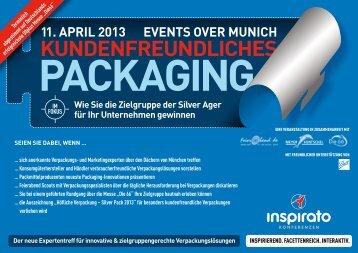 Konferenz KUNDENFREUNDLICHES PACKAGING 2013